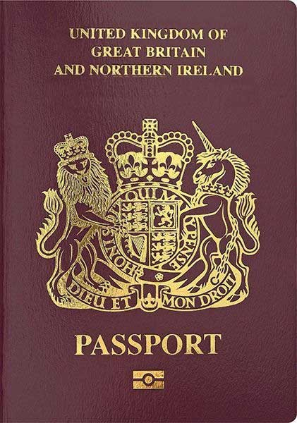 British National (Overseas) Passport