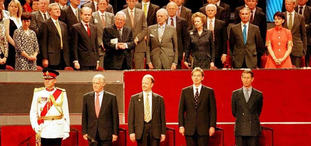 Hong Kong handover to China in 1997