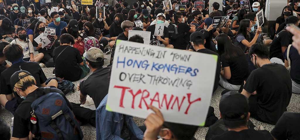 protests in Hong Kong - 2019