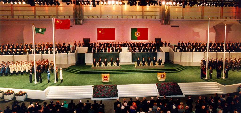 Macao handover to China 1999