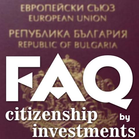 Bulgarian CBI - FAQ