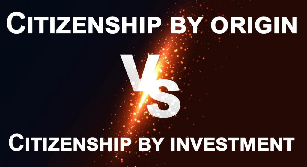 Bulgarian citizenship by origin vs investment