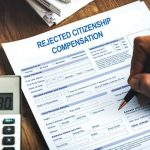 compensation for rejected citizenship