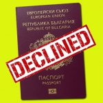 Your Bulgarian citizenship application has been declined because of objection by the State Agency for National Security