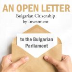 An open letter from our Client to the Bulgarian Parliament