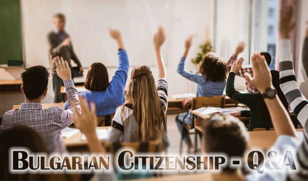 Bulgarian citizenship 2021 - Q&A