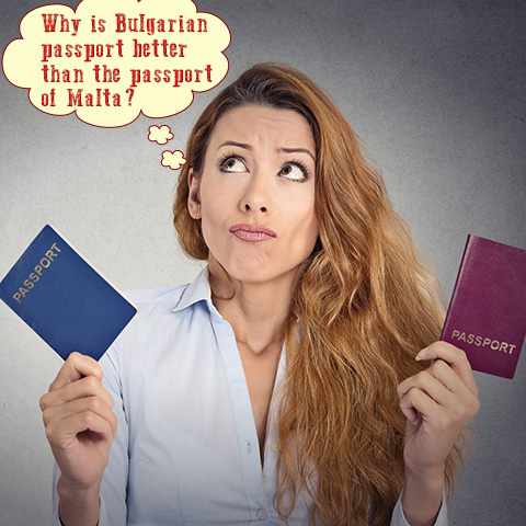 Bulgarian Passport vs. Maltese Passport