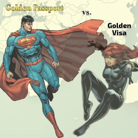 Golden Passport vs. Golden visa