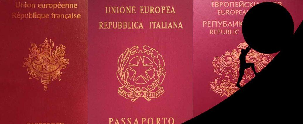 Bulgaria, Italian and French passports